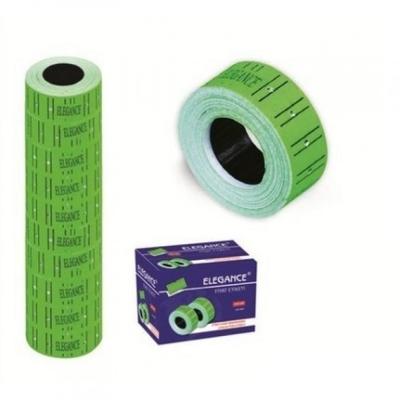 Elegance 210-Y 12*21 mm Fiyat Etiketi Yeşil 10 lu