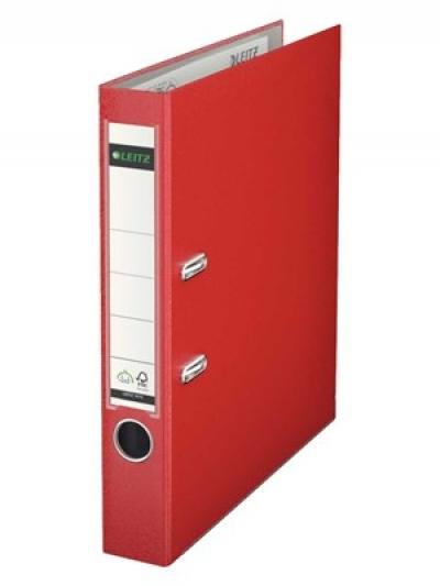 Leitz 1015-25 Dar Klasör Kırmızı