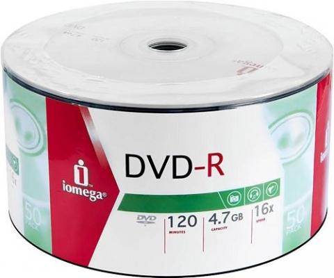 Iomega DVD-R 120 Min 4,7 Gb 16X 50 li