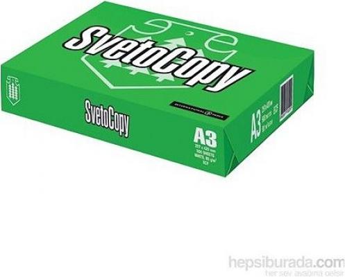 Sveto Copy A3 Fotokopi Kağıdı 80gr/m² 500 sf