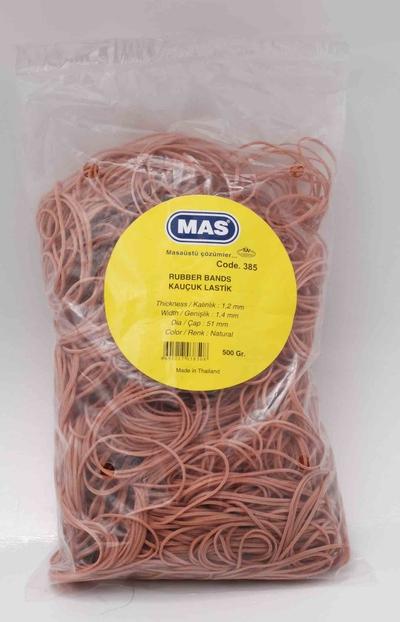Mas 385 Ambalaj Lastiği %80 Kauçuk 500 GR