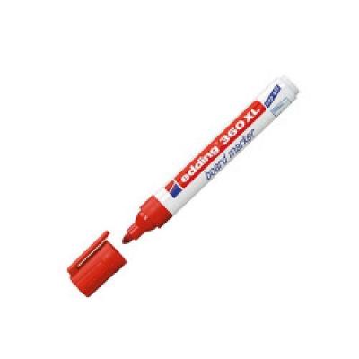 Edding Beyaz Tahta Kalemi 360 XL Kırmızı