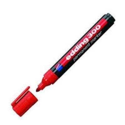 Edding Permanent Markör 300 Kırmızı