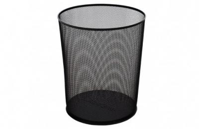 Globox Çöp Kovası 11 L Delikli Siyah