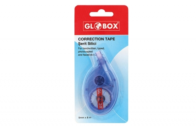 GLOBOX 6933 ŞERİT SİLİCİ 5MM*8M