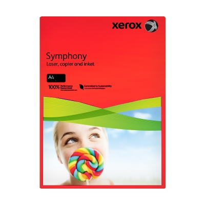 Xerox Symphony 3R93954 80 gr A4 Kırmızı